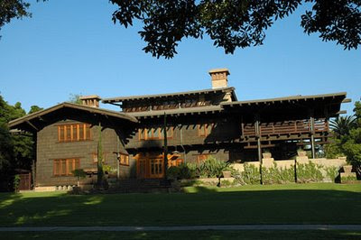 The Gamble House Exterior Arts and Crafts