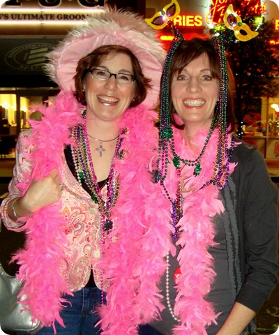 The Pink Ladies of Fat Tuesday