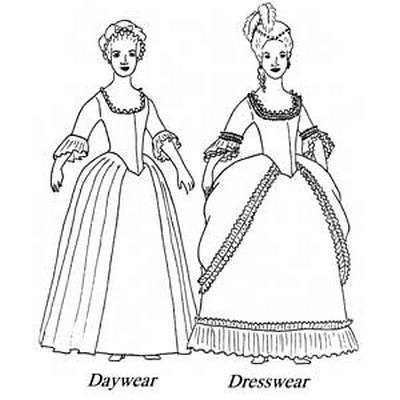 A 18th-Century Dress Sewn For Under $30 - Decor to Adore