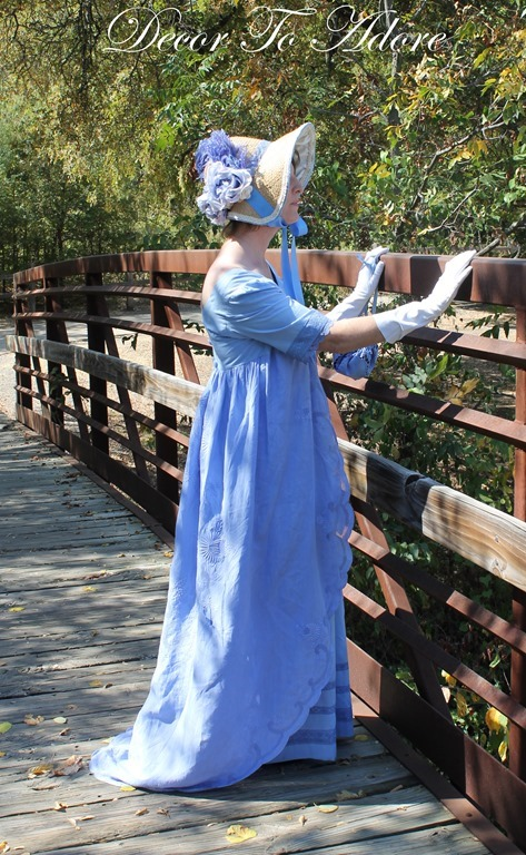 Jane Austen Regency side view