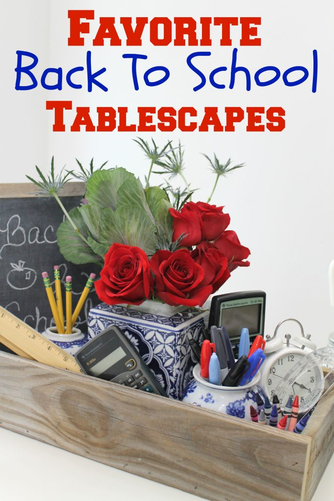 Back To School Tablescape 2017
