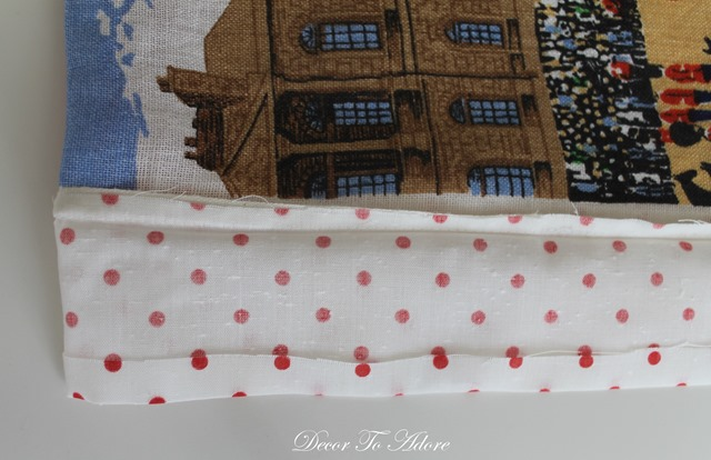 Add detail to pillow