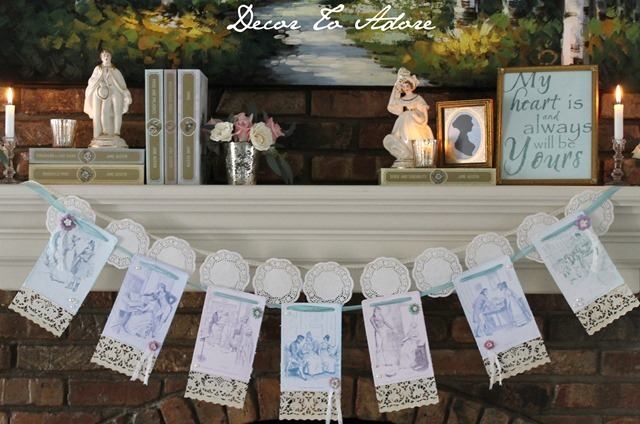 Jane Austen Party Decor