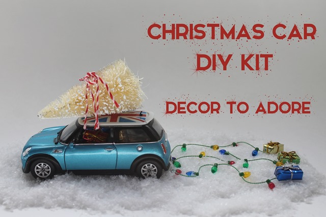 Christmas Car DIY Kit