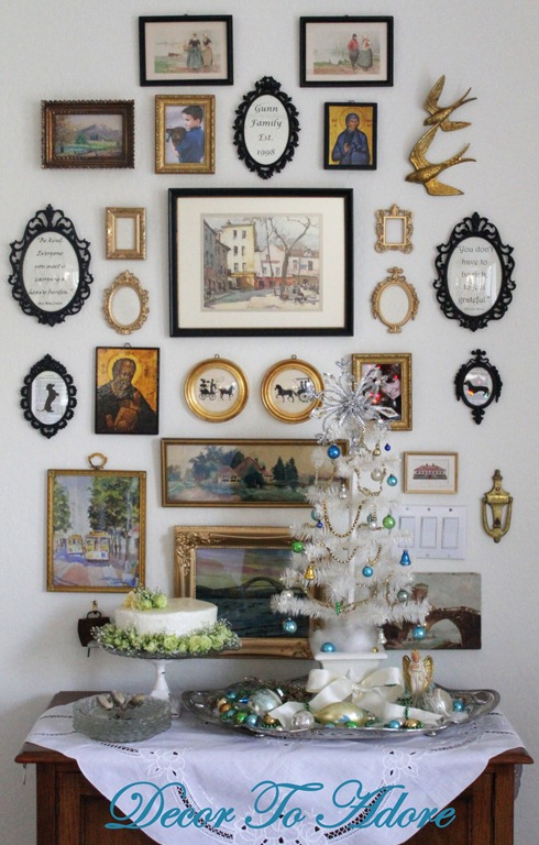 Glimmers of white and gold decor to adore for Decor you adore facebook