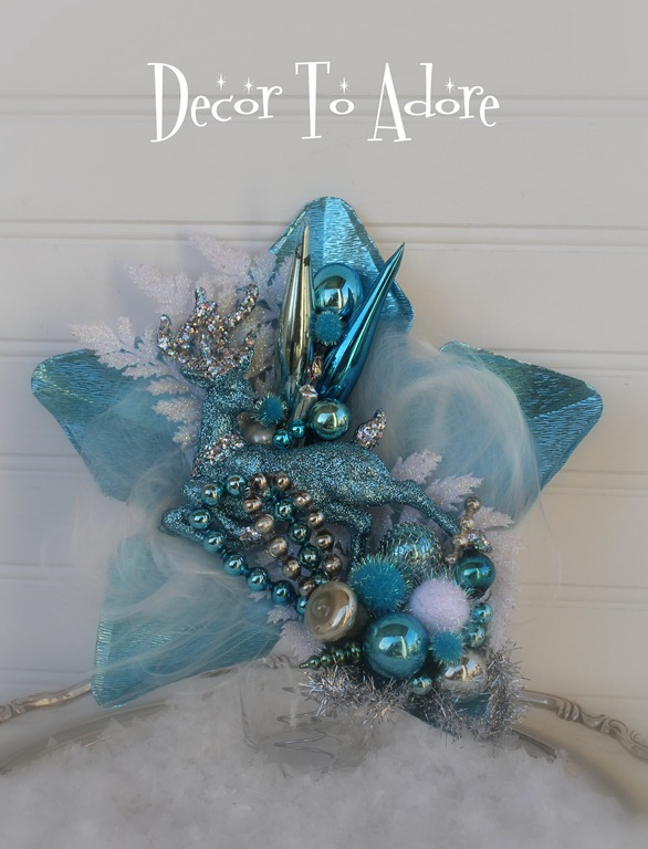 Vintage inspired tree topper