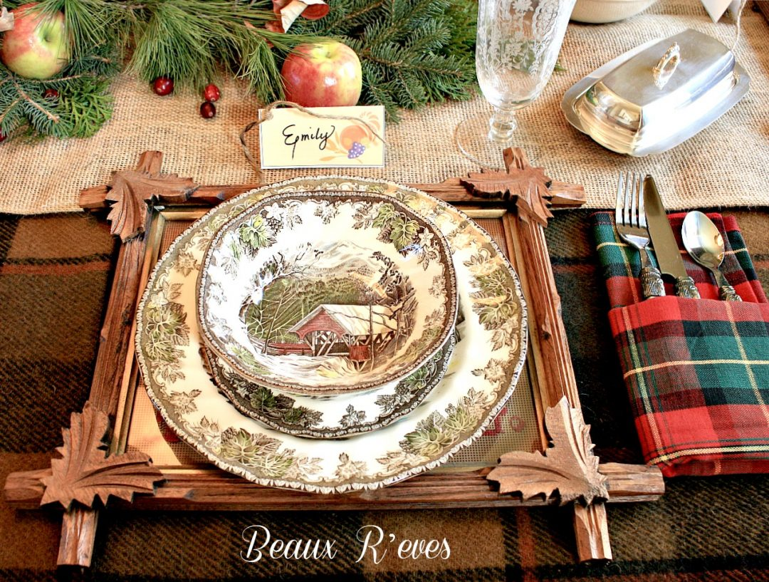 Tablescape by Beaux R'eves