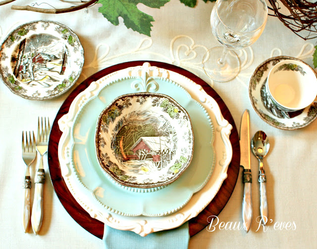 Tablescape by Beaux R'eves winter