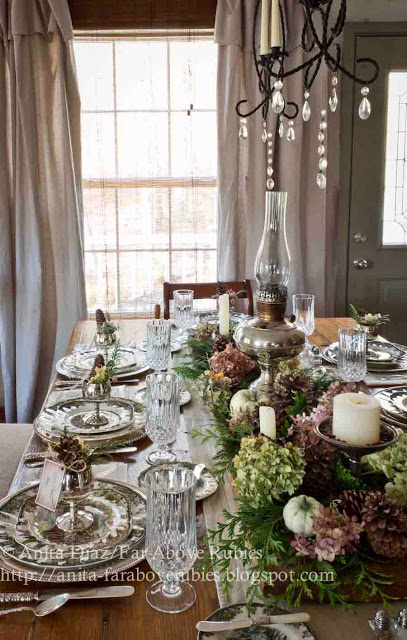 Tablescape by Far Above Rubies