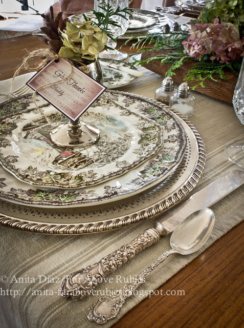 Tablescape by Far Above Rubies detail