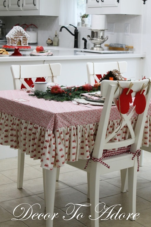 Little House Tablecloth