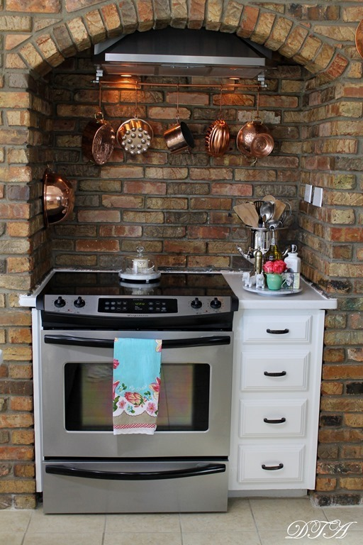 Spring Home Tour stove