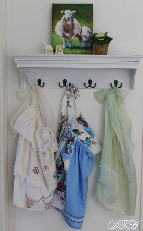 Spring Home Tour aprons