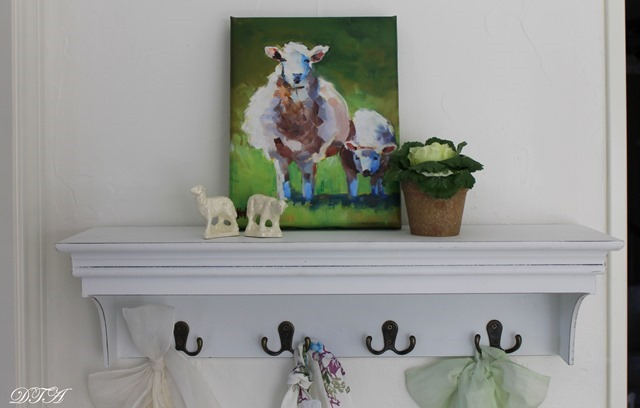 Spring Home Tour sheep