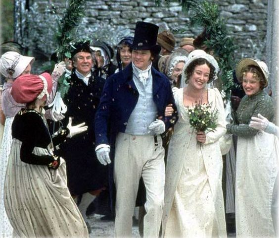 Pride and Prejudice wedding