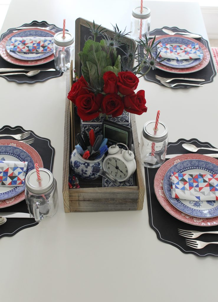 Decor To Adore 2017 Back To School Tablescape Centerpiece