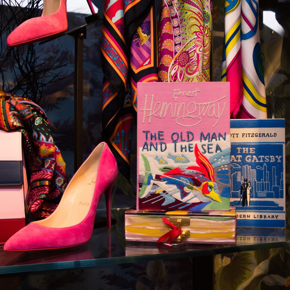 Linda's at Bergdorfs favorite Olympia Le-Tan book