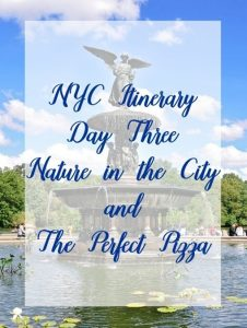 NYC Travel Itinerary Day 3