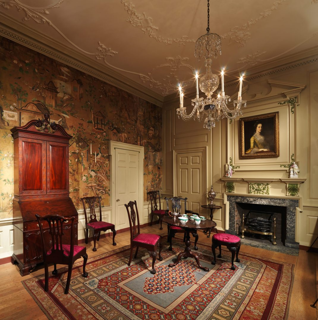 the american wing period rooms