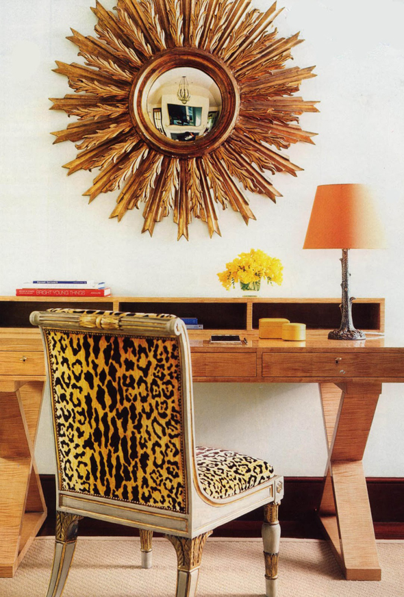 Scalamandré Leopardo chair