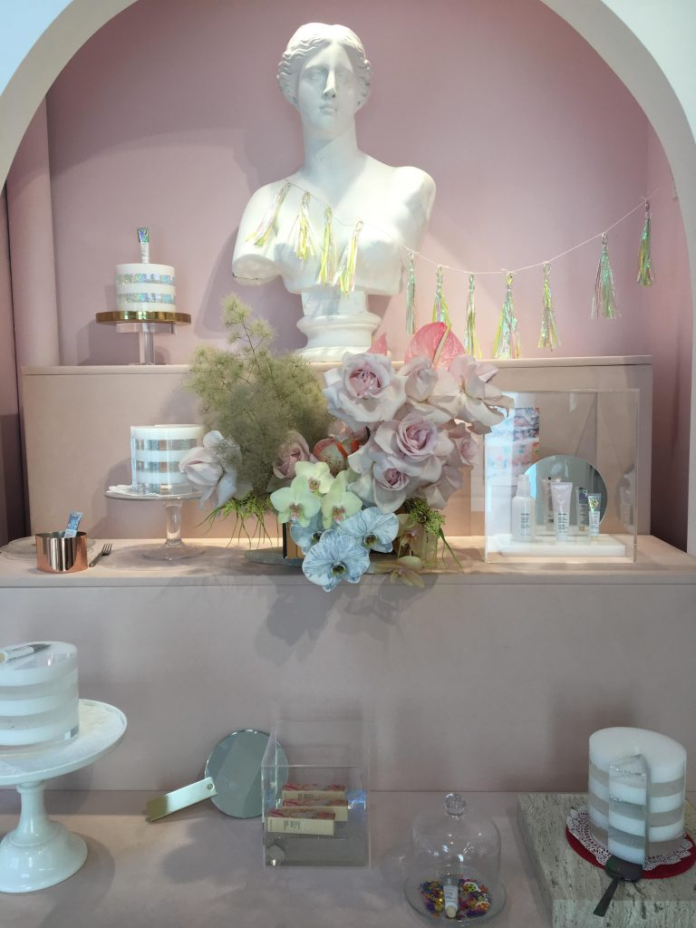 Glossier Showroom by Decor To Adore