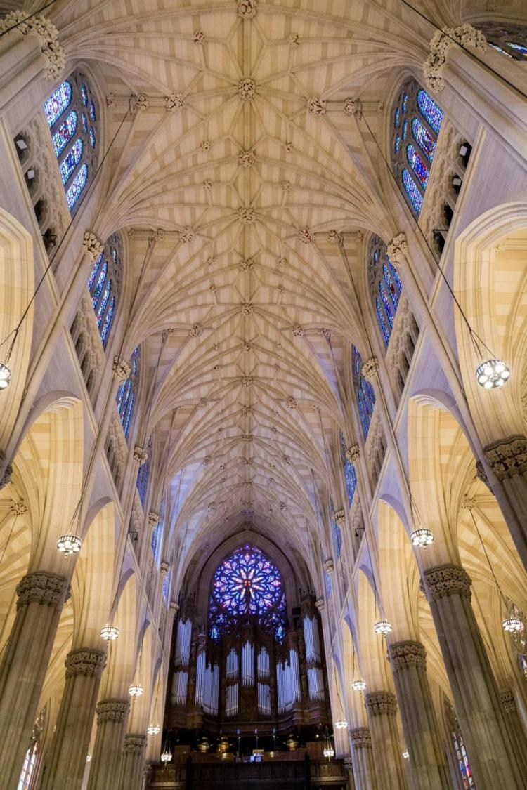 saint patrick's cathedral new york ceiling