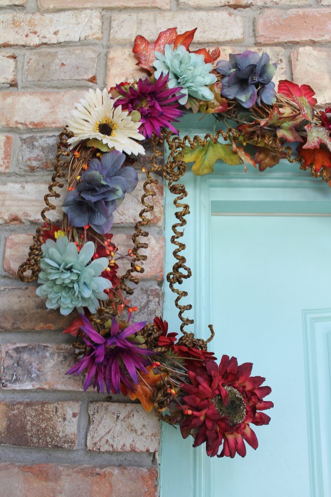 Decor To Adore 2017 Fall Front Door close up