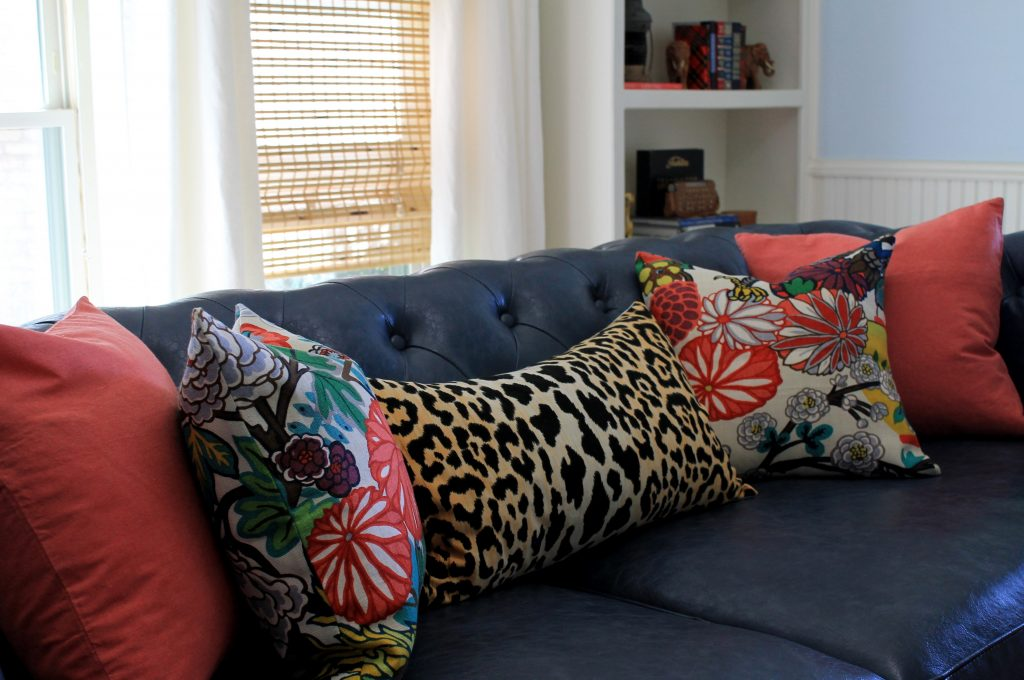 Decor To Adore Fall Home Tour 2017 couch