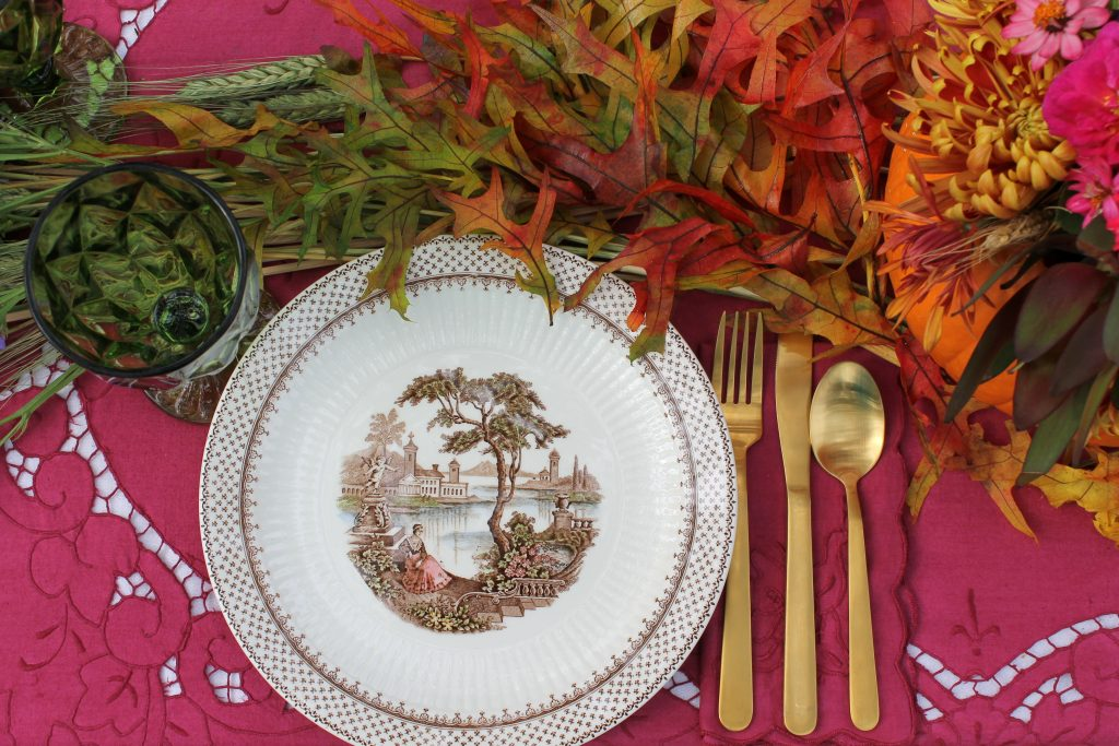 Decor To Adore Storybook Cottage Early Fall Garden dishes