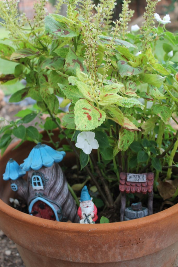 Decor To Adore Storybook Cottage Early Fall Garden gnome