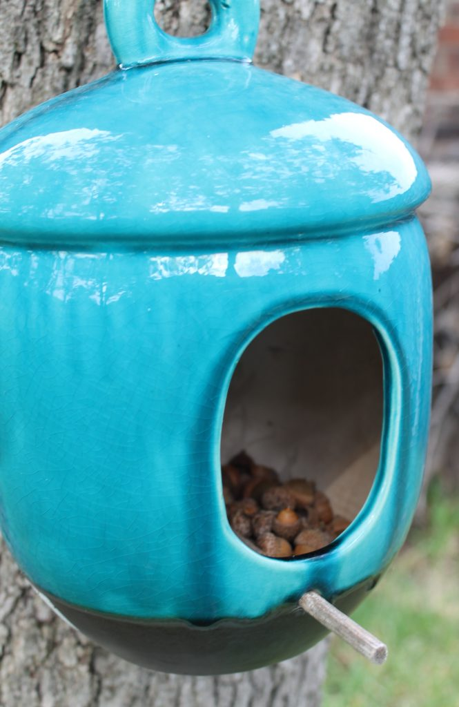Decor To Adore Storybook Cottage Early Fall Garden acorns