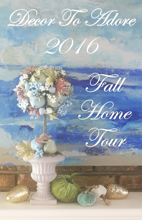 Storybook Cottage Early Fall Home Tour 2016