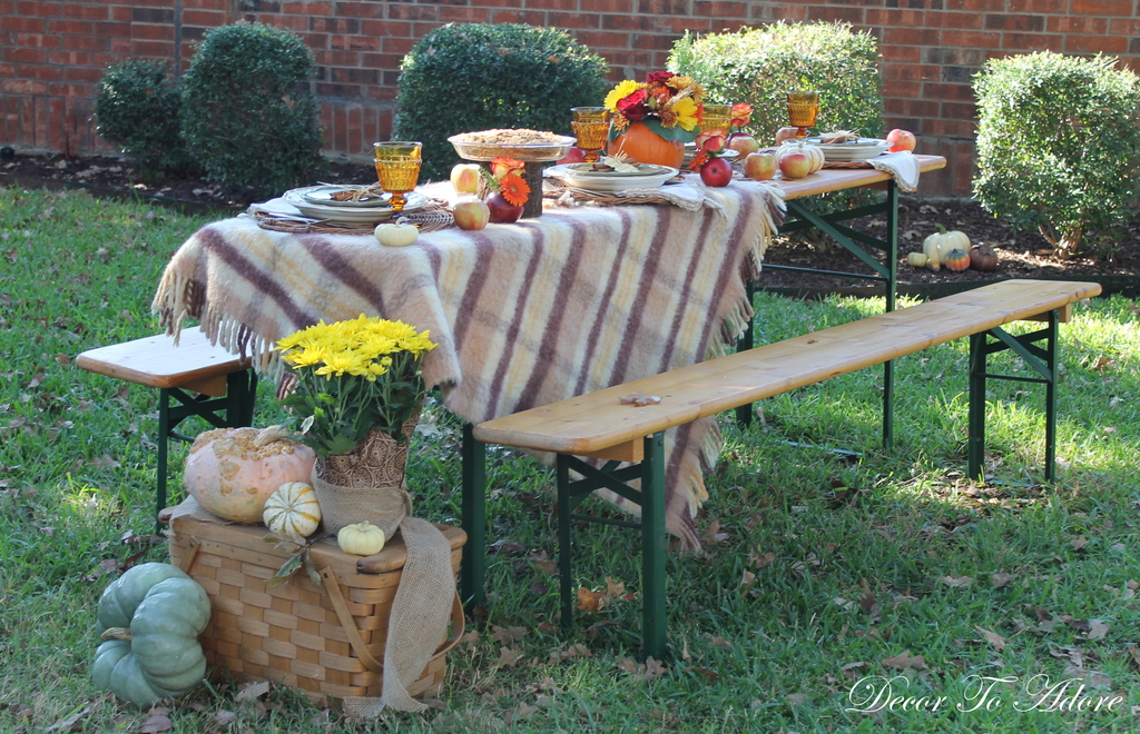A Special Fall Moment Tablescape