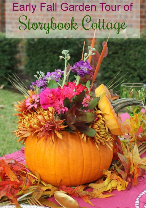 Storybook Cottage Fall Garden Tour