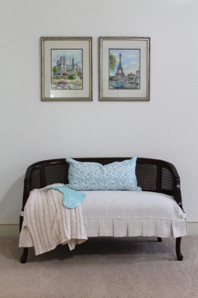Decor To Adore All Is Calm Bedroom settee