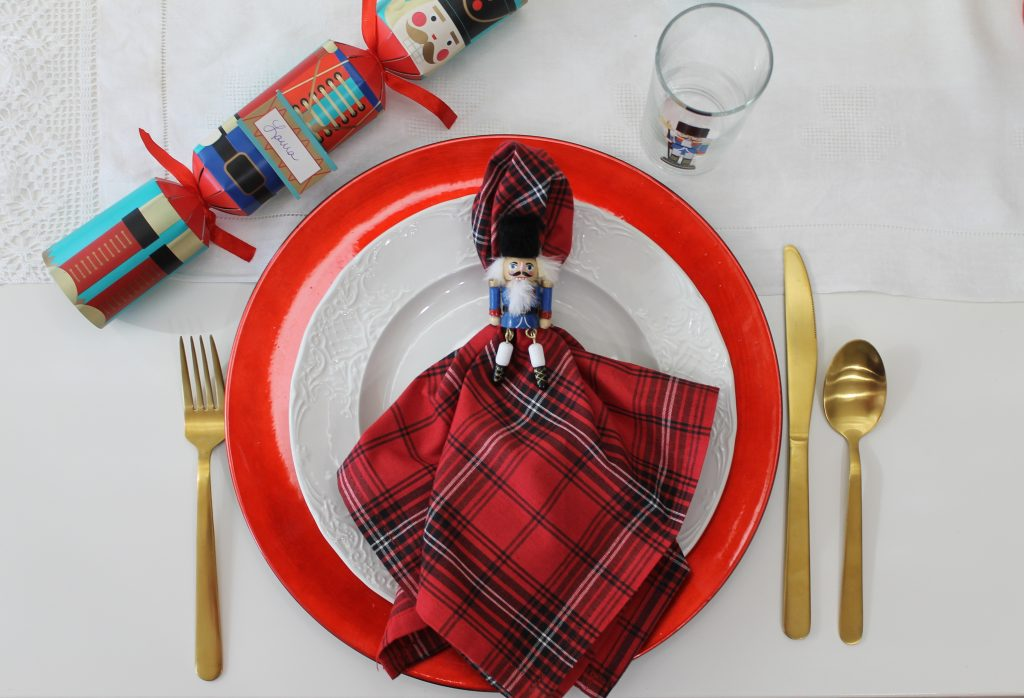 Decor To Adore Christmas Home Tour Kitchen placesetting