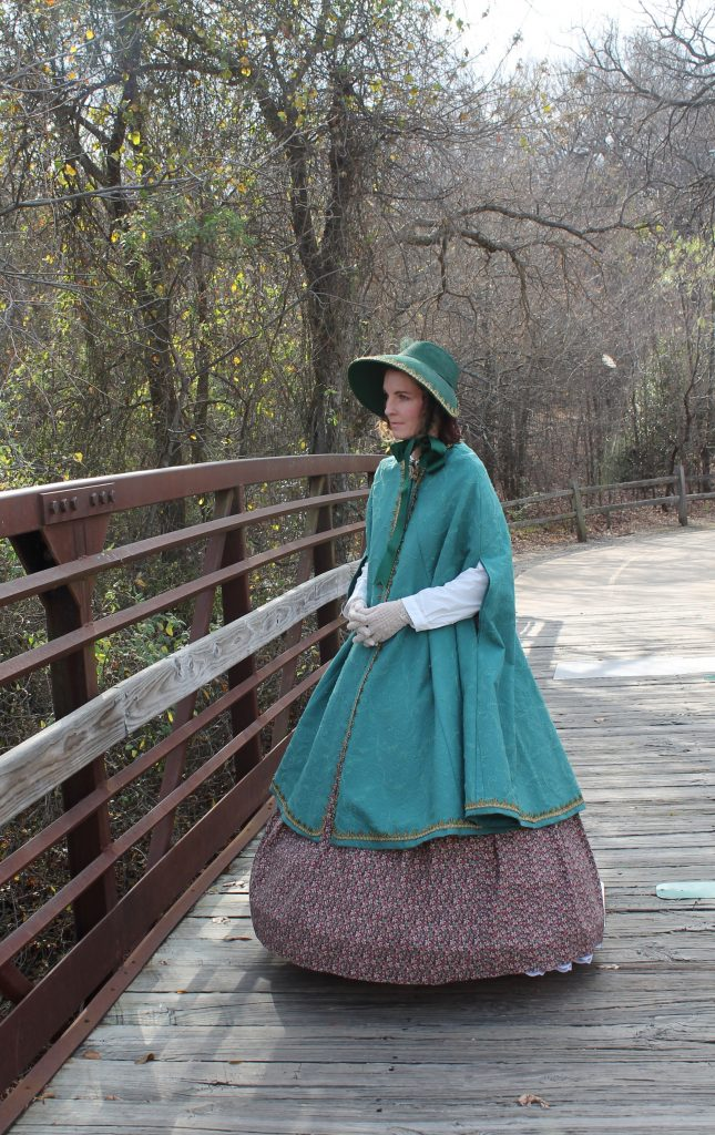 Dickens Cloak and Bonnet