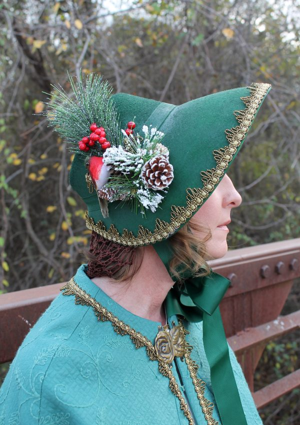 A Dickens Cloak and Bonnet for Under $20