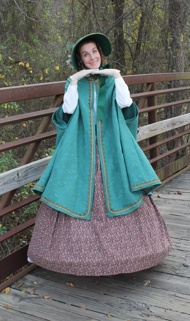 Dickens Cloak and Bonnet outtake