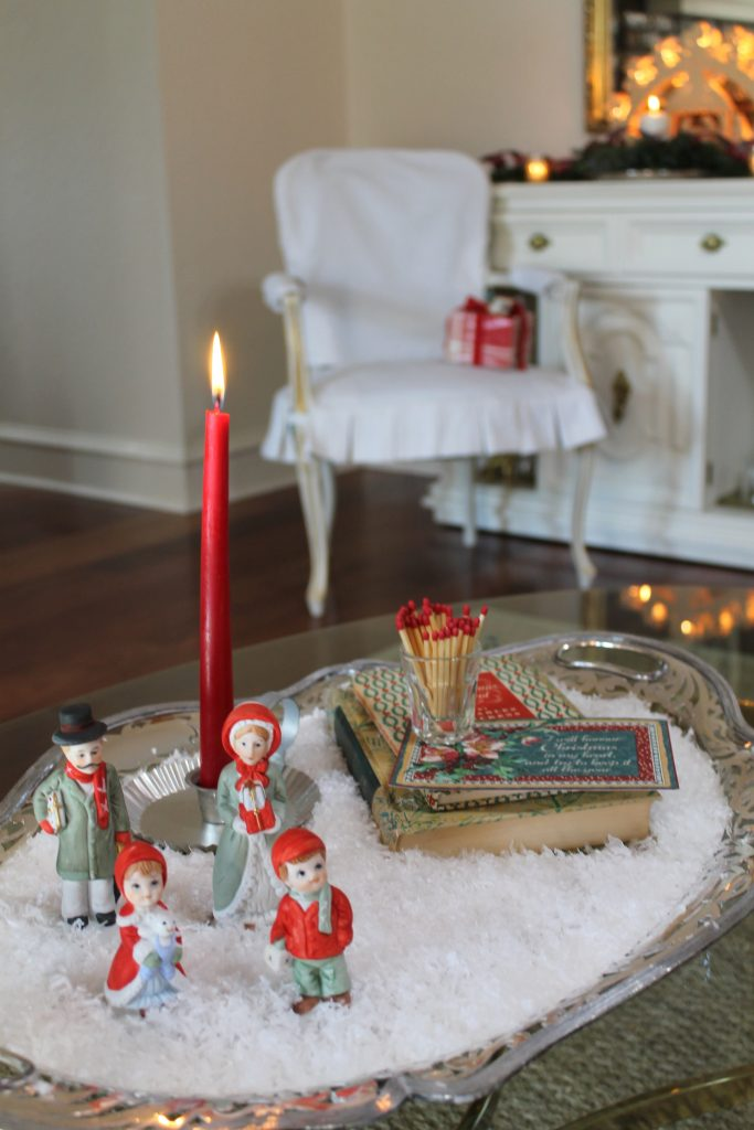 Holiday Home Tour coffee table display decor to adore