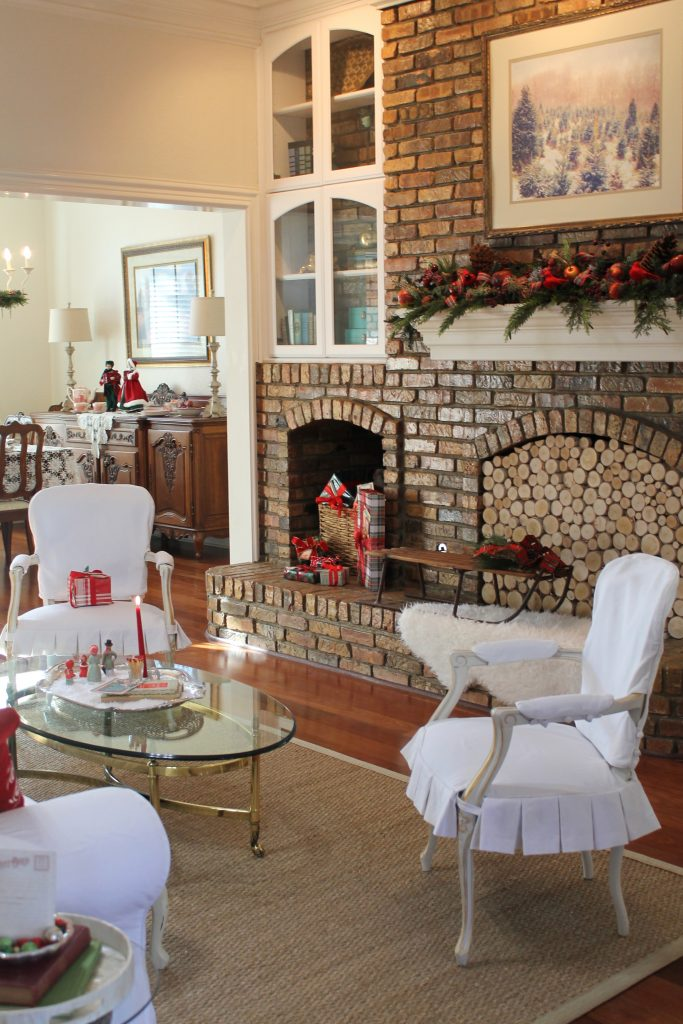 Holiday Home Tour Fireplace