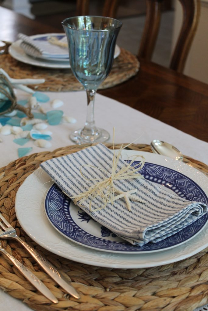 Decor To Adore Summer Home Tour place setting