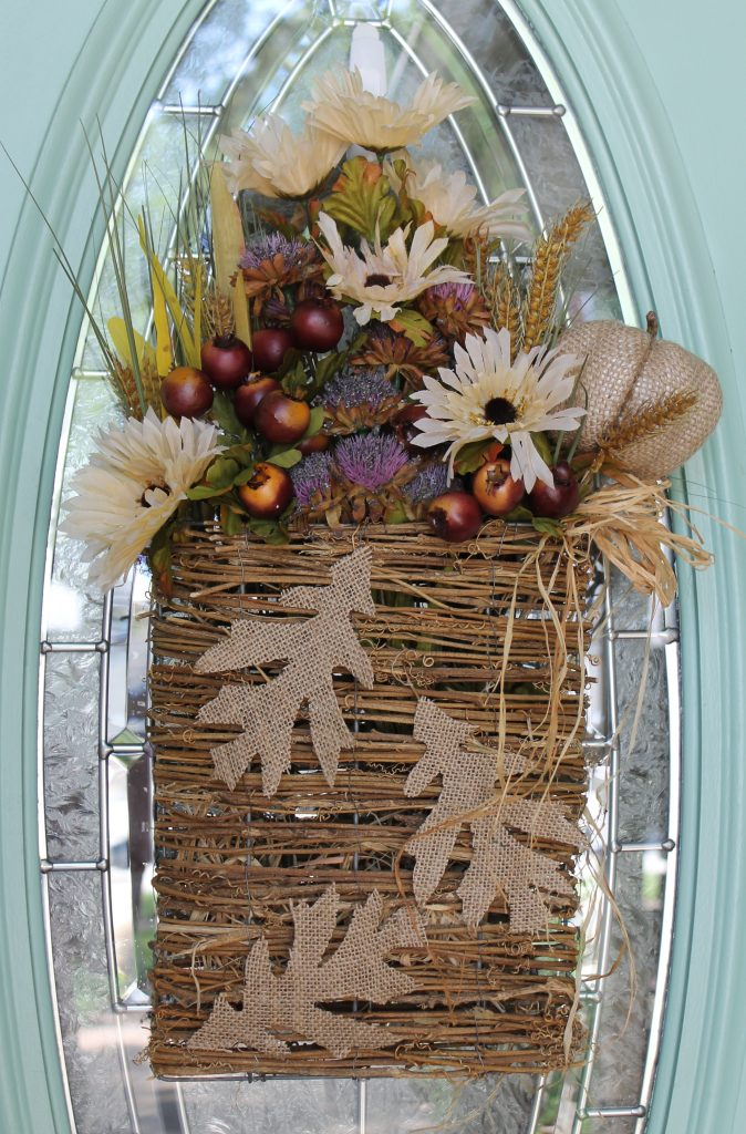 Fall Dollar Store Wreath