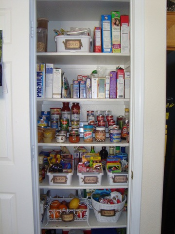 Ugly Scene Organizing the Pantry