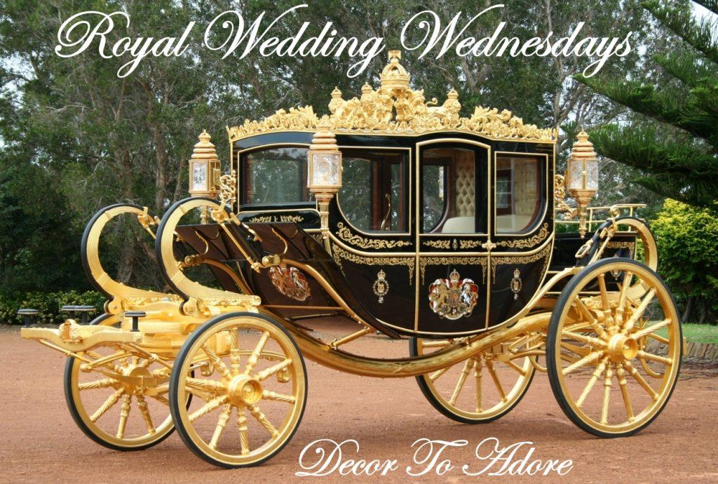 Decor To Adore Royal Wedding Wednesdays