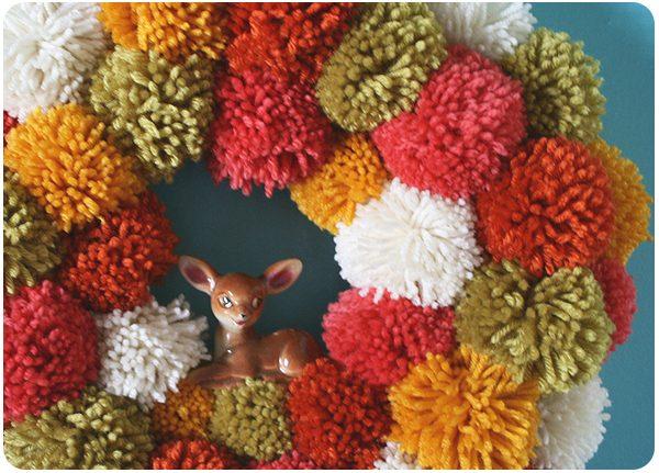 Shake Your Pom Pom Wreath Tutorial