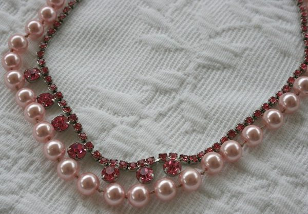 A Return To Romance Necklace Tutorial