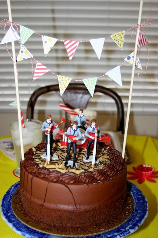 Ladies and Gentlemen The Beatles Birthday Tablescape