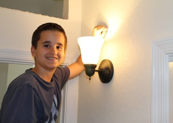 Installing New Lighting So Easy A Ten Year Old Can Do It