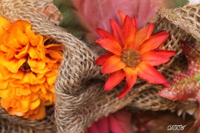 new burlap wreath